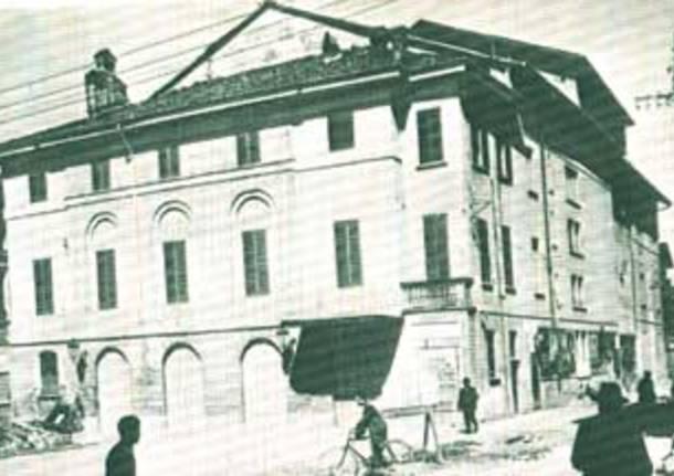 teatro sociale varese esterno facciata fronte edificio