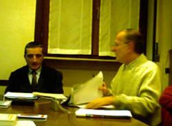 angelo proserpio coordinatore centrosinistra marco pozzi capogruppo consiglio saronno