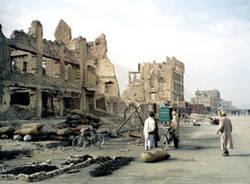 strada macerie guerra kabul afghanistan