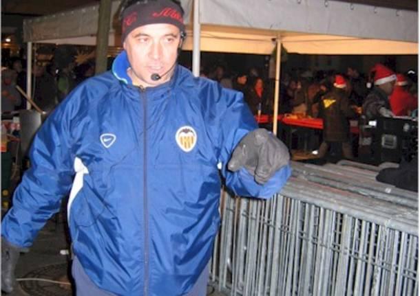 L'assessore Marco Caccianiga