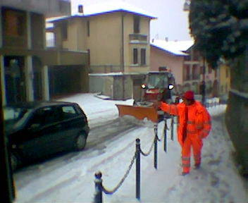 La neve a Solbiate - 3