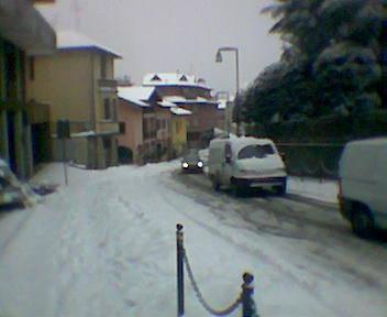 La neve a Solbiate - 4