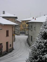 Neve a Cazzago Brabbia