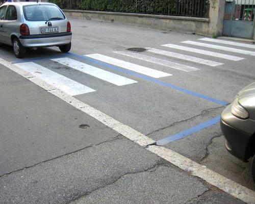 Parcheggio... pedonale