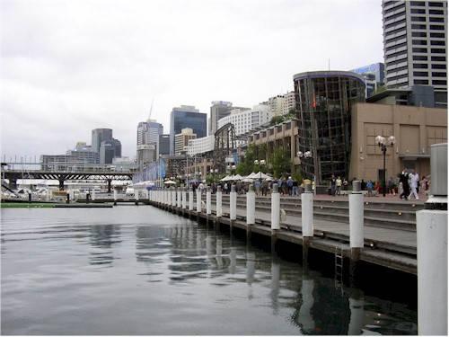 Veduta di Sidney centro