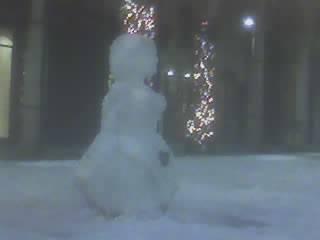 Neva in piazza del garibaldino a Varese