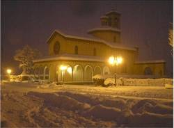 bodio notte neve
