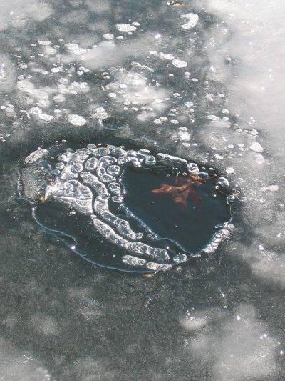 Bolle nel ghiaccio