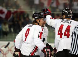 hockey olimpiadi italia canada