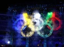 inaugurazione giochi olimpici torino 2006 cerchi olimp0ici