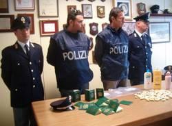 polizia droga cocaina passaporti falsi malpensa