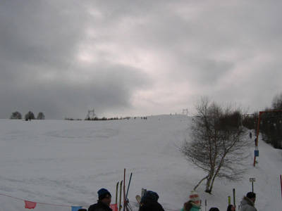 Una giornata sugli sci in Forcora