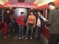 a lezione sui treni svizzeri