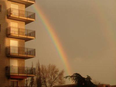 Arcobaleno sopra Sacconago  - 1