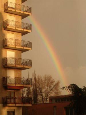 Arcobaleno sopra Sacconago  - 2