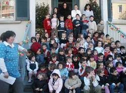 foto di gruppo asilo Gazzada