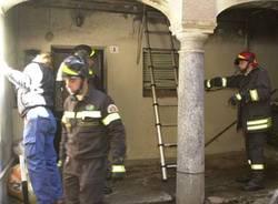 Incendio Cadegliano viconago 7 marzo 2006