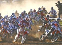 motocross ciglione partenza