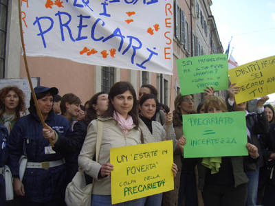 presidio precari rsu 30 marzo