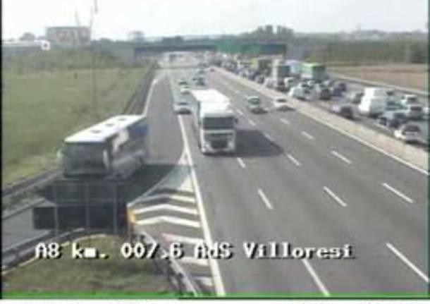 incidente bivio lainate origgio telecamera autostrada