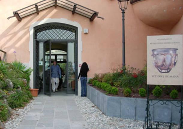 museo archeologico Villa Mirabello  ingresso
