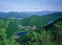 lago di ganna dal monte poncione