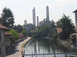 Ticino secca Turbigo degrado