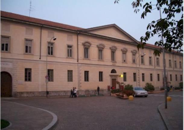IL palazzo comunale a Busto Arsizio
