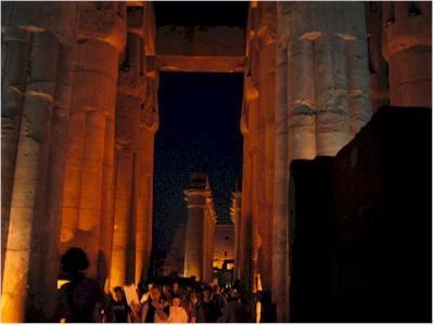 Tramonto a Luxor