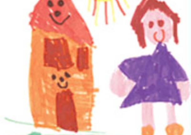 bambini disegno affido