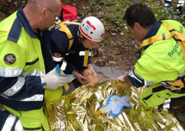 cavaria esercitazione protezione civile