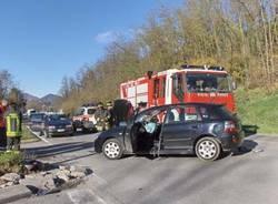 incidente moto vedano