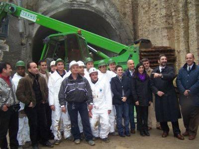 interramento castellanza completamento seconda galleria 18-11-2006