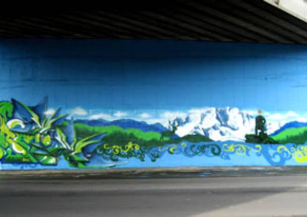 Secondo graffito di Buguggiate terminato