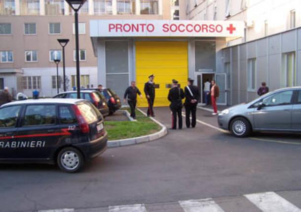 tradate carabinieri ospedale