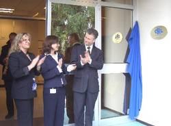 ccr ispra inaugurazione laboratorio sicurezza alimentare targa celebrativa madelin