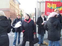 protesta precari ospedale busto 15-12-2006
