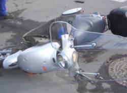 scooter motorino incidenti