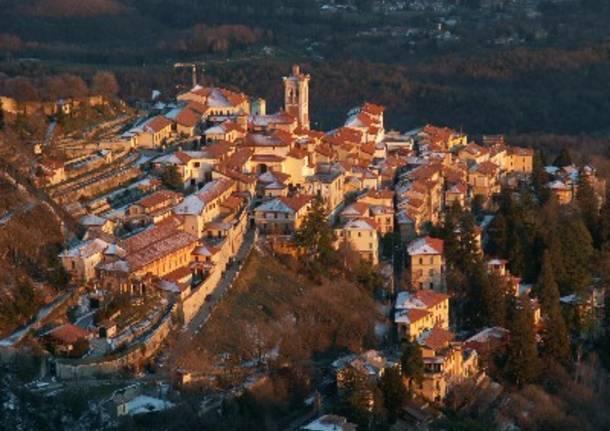 Tramonto sul Sacro Monte