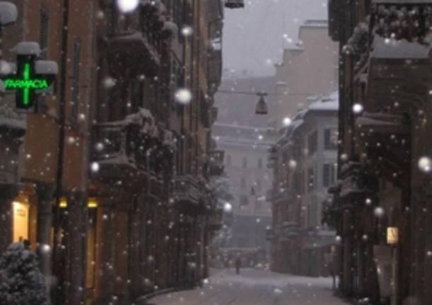 Varese con la neve