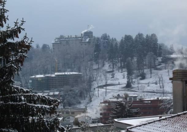 Varese- La prima neve 2007