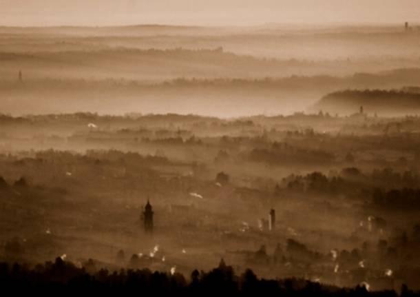 Varese all'alba