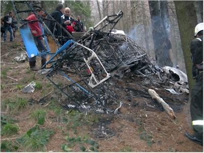incidente aereo campo dei fiori