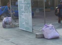 busto si rifiuta campagna contro abbandono rifiuti