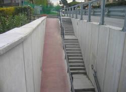 Cazzago Brabbia pista ciclabile lavori