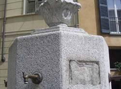 fontana di piazza carducci varese (forse poi buguggiate)