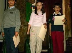 I bambini premiati al teatro Apollonio