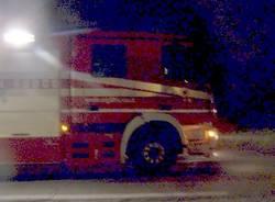 incidente mortale muletto golasecca 20-4-2007 pompieri vigili del fuoco