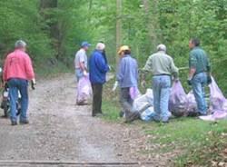 pulizia boschi orino