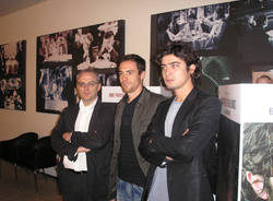 Scamarcio e Germano conferenza stampa